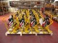Rail grinding machines