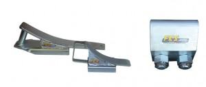 Scarpette di stazionamento pesante e leggera e morsetto