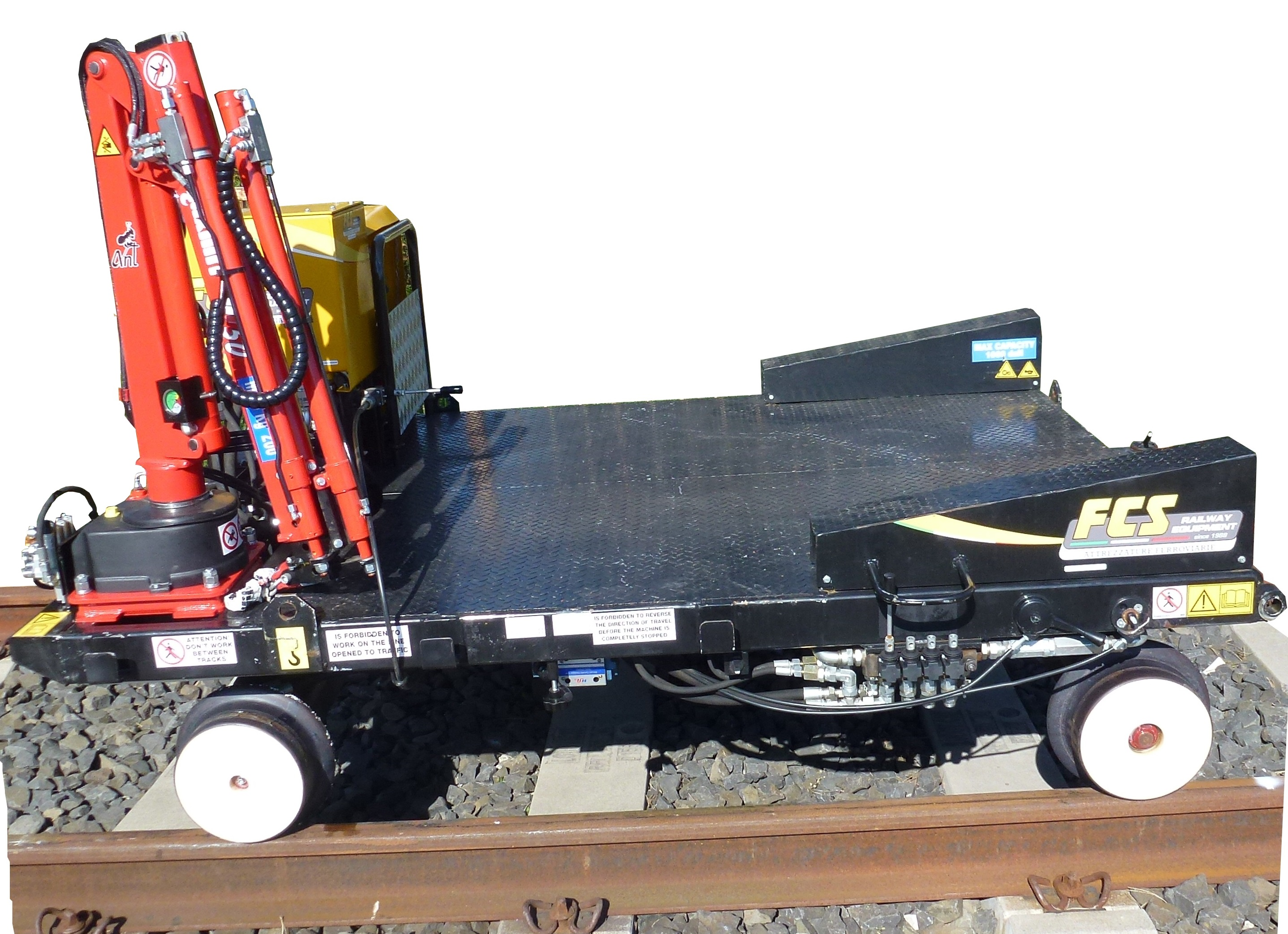 Motorized Track Trolley Pm 2000 D Fcs Rail Railway Equipment